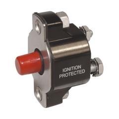 [GJFJ_338]  Circuit Protection - Marine Parts Source | Round Fuse 50 Amp Breaker Box |  | Marine Parts Source