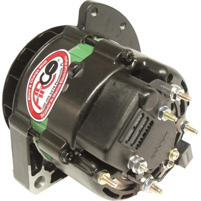 [DIAGRAM_38YU]  Arco 60075 Marine Alternator - 55 Amp, 12 Volt | Arco 60075 Wiring Diagram |  | Marine Parts Source