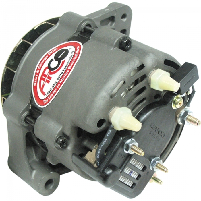 [DIAGRAM_1CA]  Marine Alternator - Fits OMC/Volvo - Arco - AR 60125 | Arco Alternator Wiring Diagram |  | Marine Parts Source