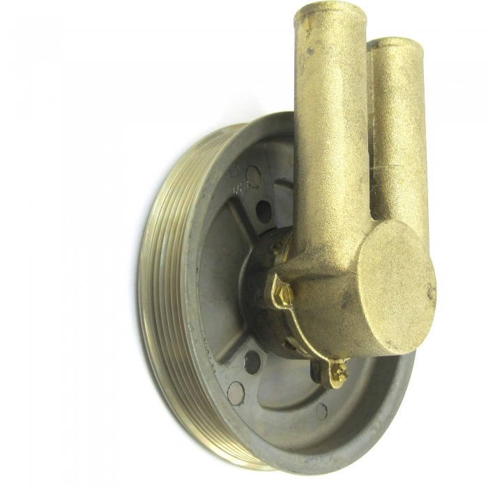 21214596 A.A Raw Sea Water Pump Double V Belt Pulley for Volvo Penta 3858229
