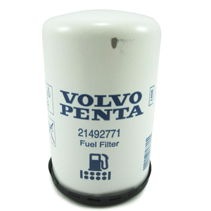 Volvo Penta Spin-On Diesel Fuel Filter - 21492771 | Volvo Boat Fuel Filter Location |  | Marine Parts Source